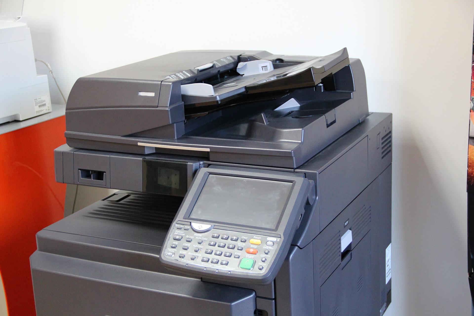 Copier leasing machine